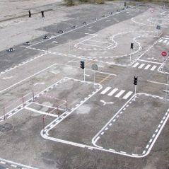 Собственный автодром автошколы Академия Волгоград